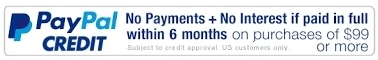paypal financing available